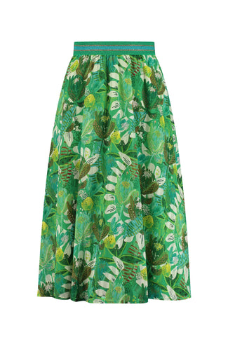 SKIRT - Jungle Beats Green