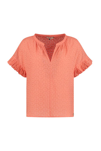 TOP - Coral Embroidery