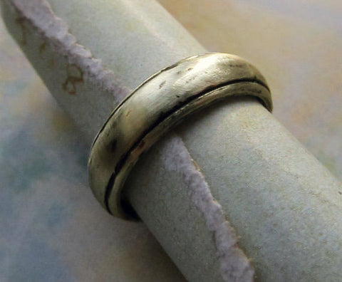 cast silver ring Cast bracelet Handmade by jewelry designer James Christian