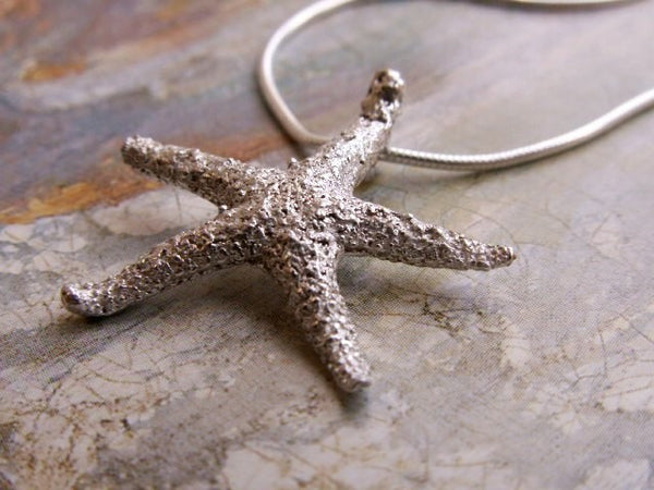 Nautical Starfish Pendant