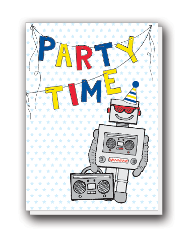 PARTY TIME ROBOT