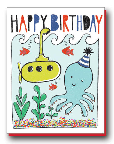 Birthday Octopus