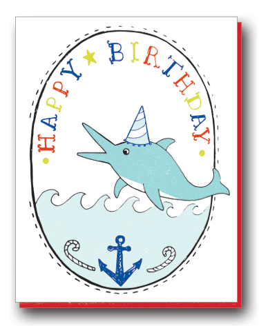 Birthday Boy Dolphin