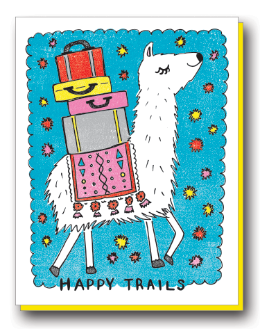 Happy Trails Llama