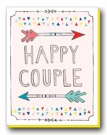 HAPPY COUPLE ARROWS