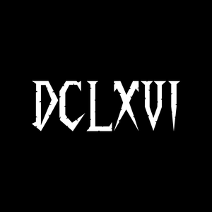 DCLXVI Embroidered Polo Shirt