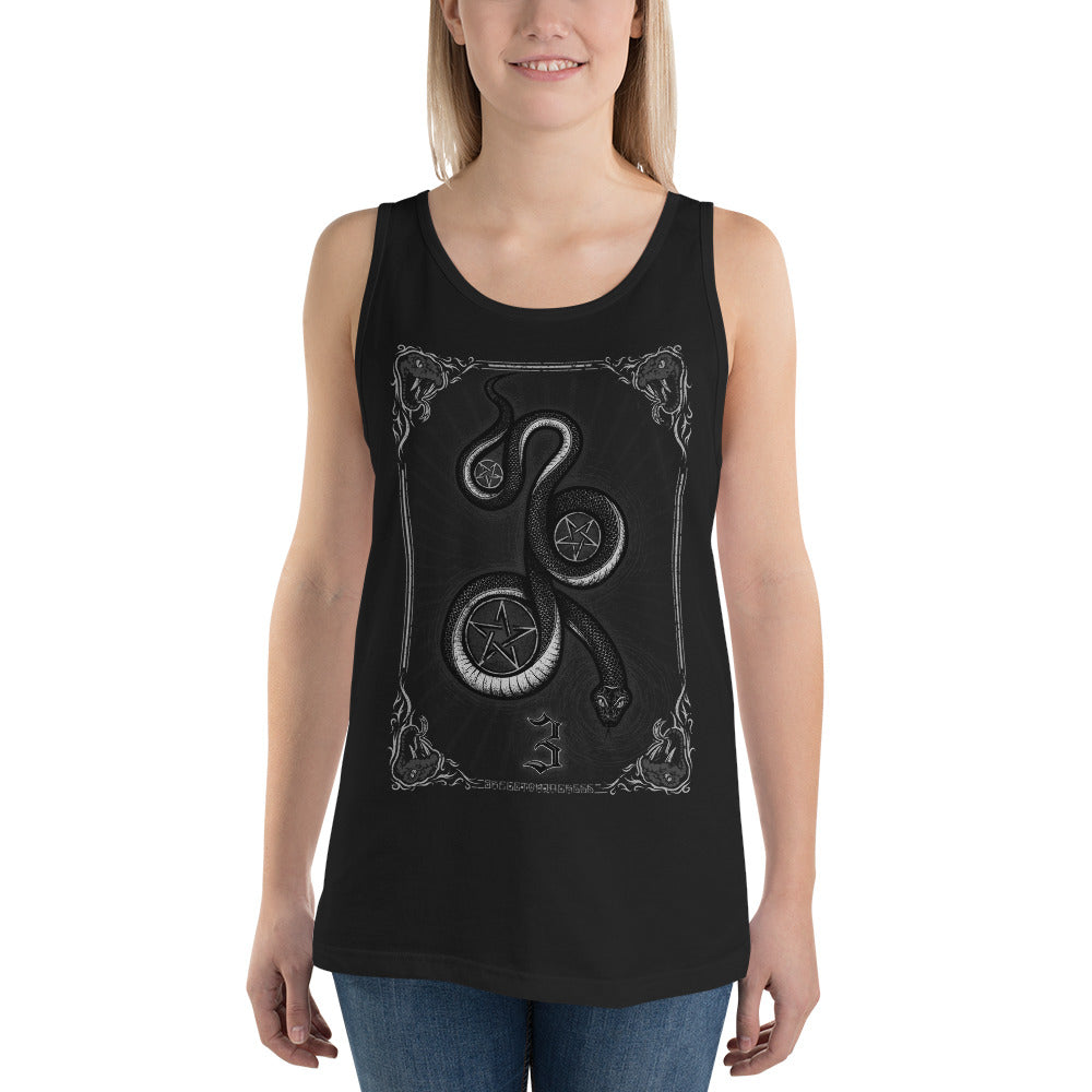 Serpentacles Unisex Tank Top