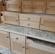 Upgrade to Maple cabinets