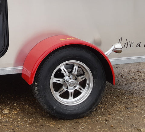 Round Painted Fender