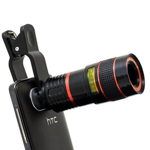 Telephoto Zoom Phone Lens