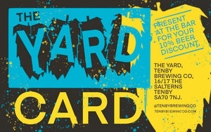 The YARD CARD(10% lifetime discount!)