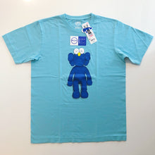 Load image into Gallery viewer, KAWS x Uniqlo Blue BFF Tee 'Green'