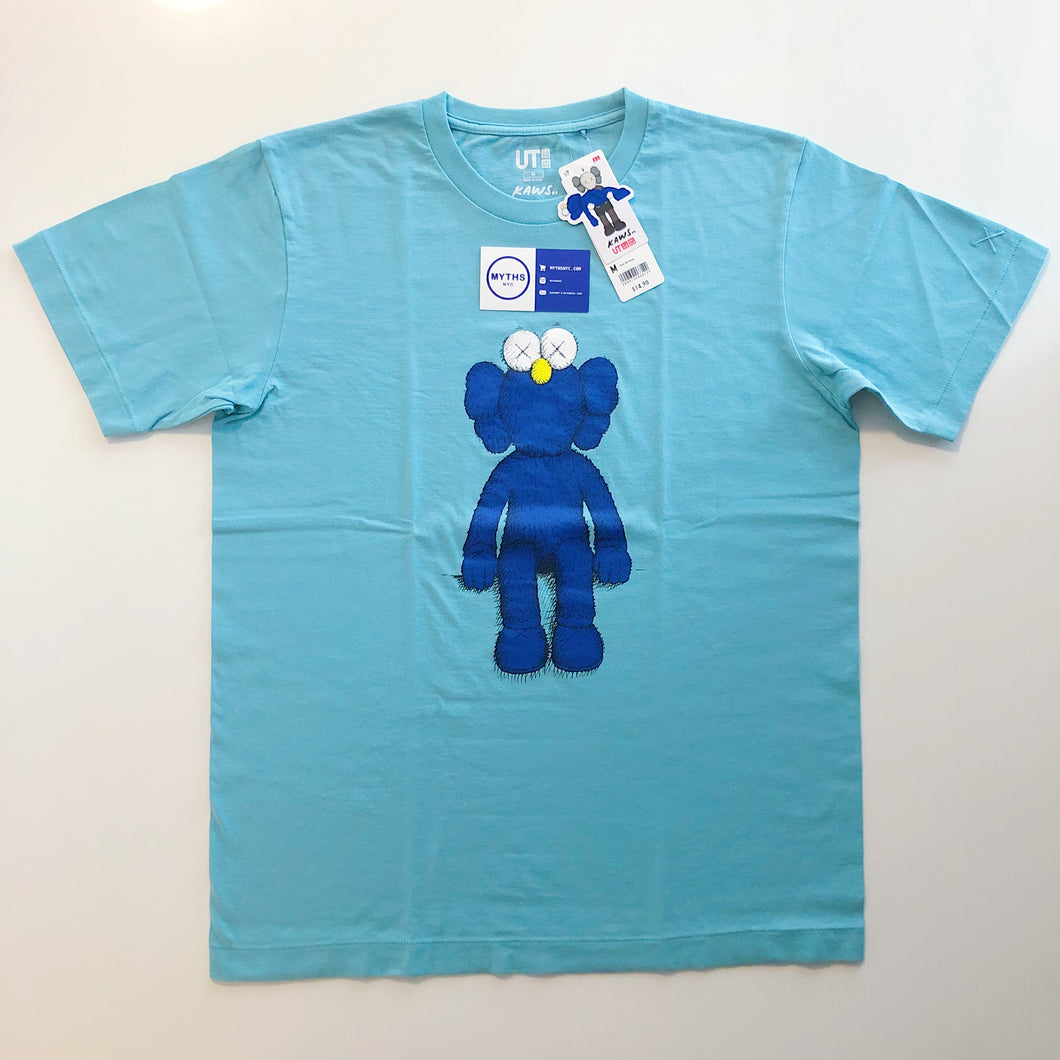 KAWS x Uniqlo Blue BFF Tee 'Green'
