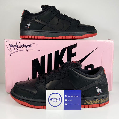 Jeff Staple x Nike SB Dunk Low 'Black Pigeon'