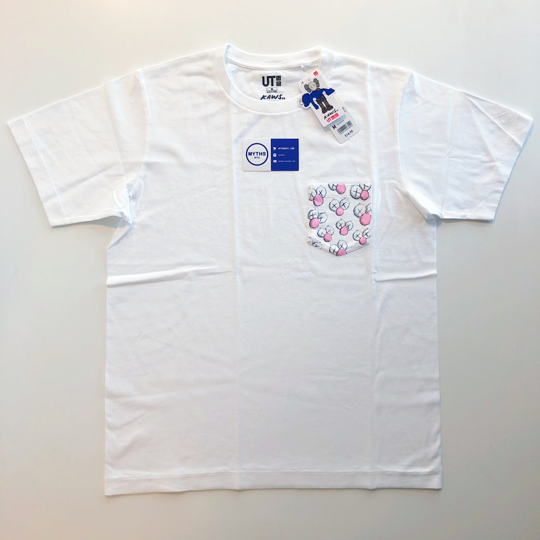 KAWS x Uniqlo BFF Pocket Tee 'White'