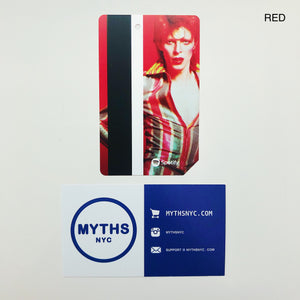 David Bowie NYC MTA Metro Card