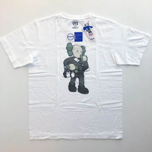 KAWS x Uniqlo Clean Slate Tee 'White'