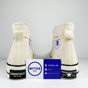 Fear of God x Converse Chuck Taylor All-Star 70s Hi 'Cream/Black'