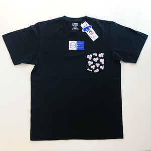 KAWS x Uniqlo BFF Pocket Tee 'Black'