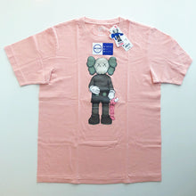 Load image into Gallery viewer, KAWS x Uniqlo Companion Tee 'Pink'