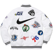 Load image into Gallery viewer, Supreme Nike/NBA Teams Warm-Up Jacket White