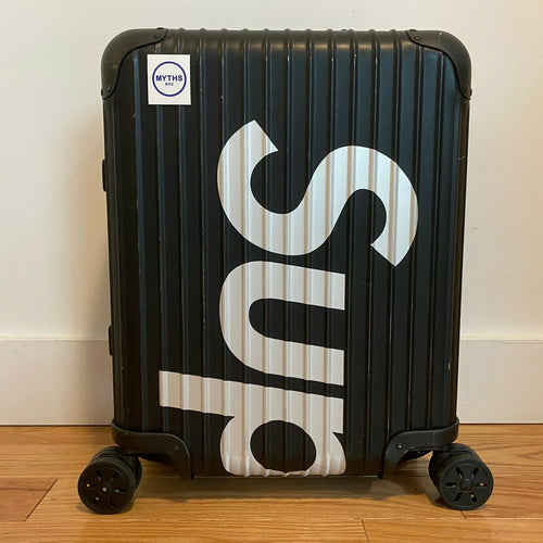 Supreme SS18 RIMOWA Topas Multiwheel 45L Luggage 'Black'