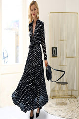 Plus Polka Dot Maxi