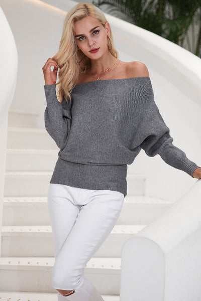 Buy Off The Shoulder Pullover