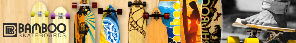 Longboards from Bamboo Skateboards