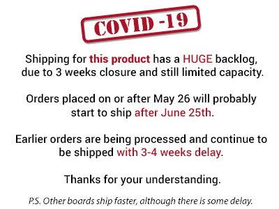shipping delayed