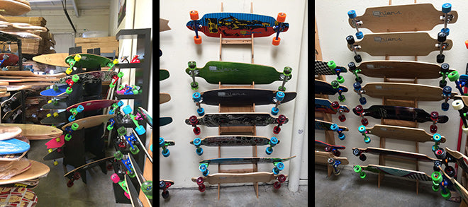 Some of Ehlers great long boards