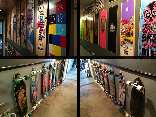 Longboards from Madrid Skateboards