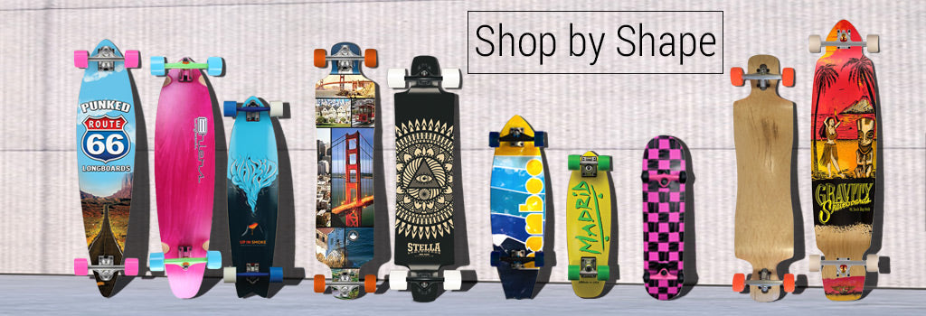 Longboards Shape Guide
