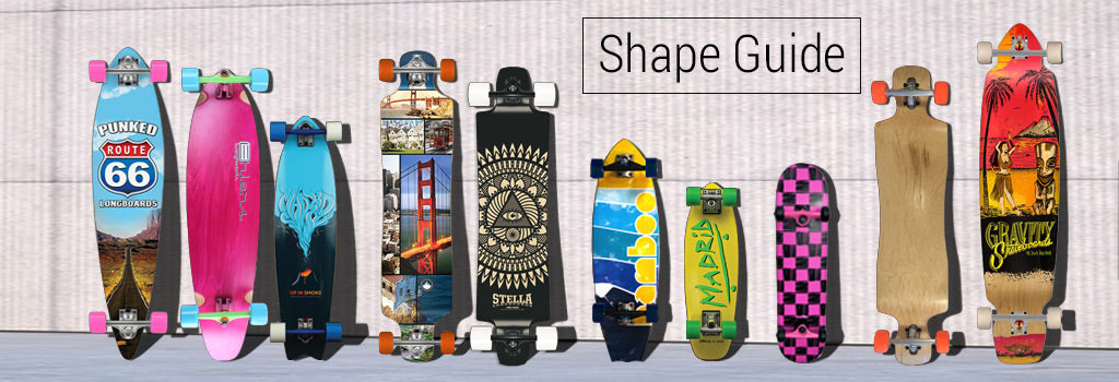 Longboard Shape Guide
