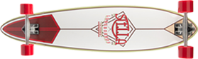 crimson pintail longboard