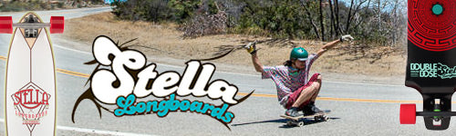 Top Stella Longboards Decks