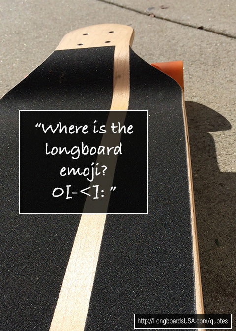 Where is the Longboard emoji?