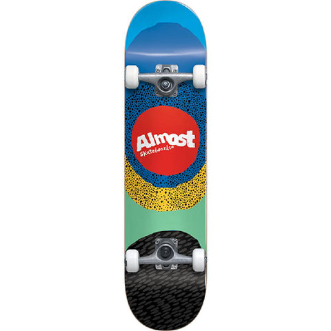 "Almost Radiate Blue 8.25"" Skateboard - Longboards USA"