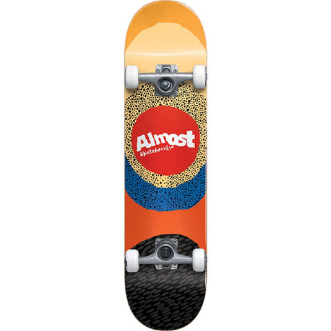 "Almost Radiate Yellow 7.5"" Skateboard - Longboards USA"