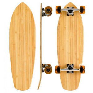 "Bamboo Blank Boardwalk 27"" Cruiser Longboard - Longboards USA"