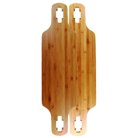 "Bamboo Blank Drop Through  36"" Longboard Deck - Longboards USA"