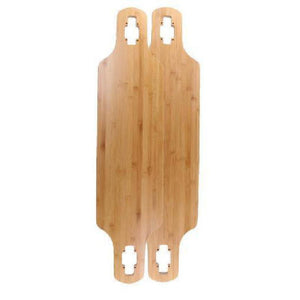"Bamboo Blank Drop Through  40"" Longboard Deck - Longboards USA"