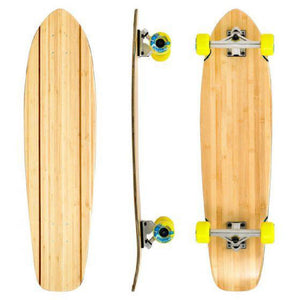 "Bamboo Blank Fat Boy 34"" Longboard - Longboards USA"
