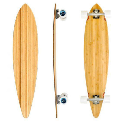 "Bamboo Blank Short 42"" Pintail Longboard - Longboards USA"