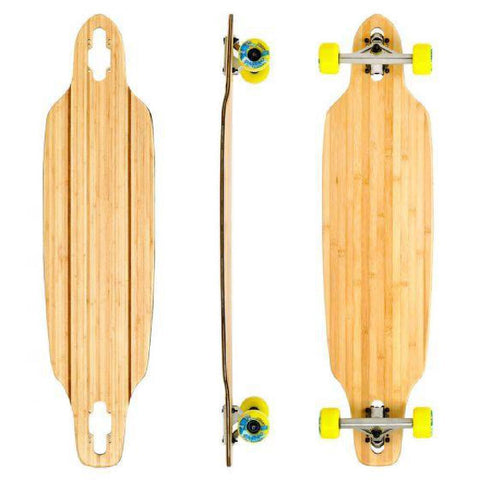 "Bamboo Blank Short Directional Drop Through 37.5"" Longboard - Longboards USA"