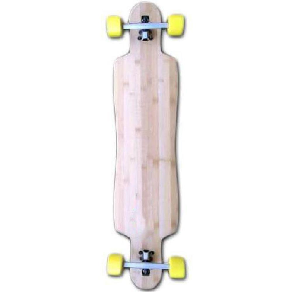 "Bamboo Drop Through Longboard- 42.75"" x 9.5"" - Complete - Longboards USA"