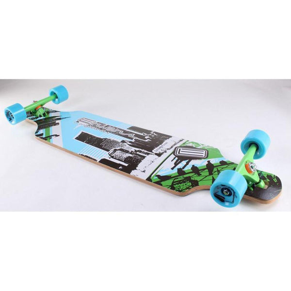 "Bamboo Drop Through Longboard Inception 40"" Longboard - Longboards USA"