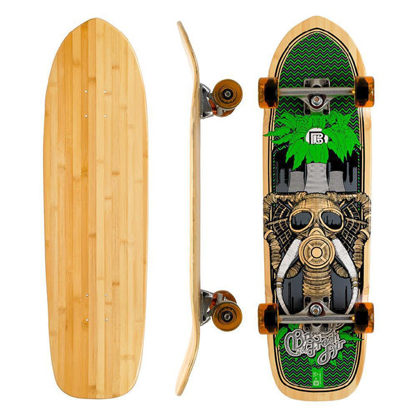 "Bamboo Fresh Air Pool Deck 32"" Cruiser - Longboards USA"
