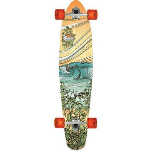 "Bamboo Kicktail Breakers 42"" Stella Longboard - Longboards USA"