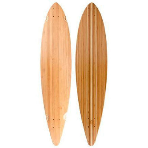 "Bamboo Pintail Longboard 44"" Deck - Longboards USA"